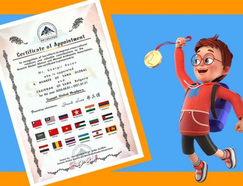 SmartyKids reprezentant pentru România al Asociației Internaționale SAMA Global